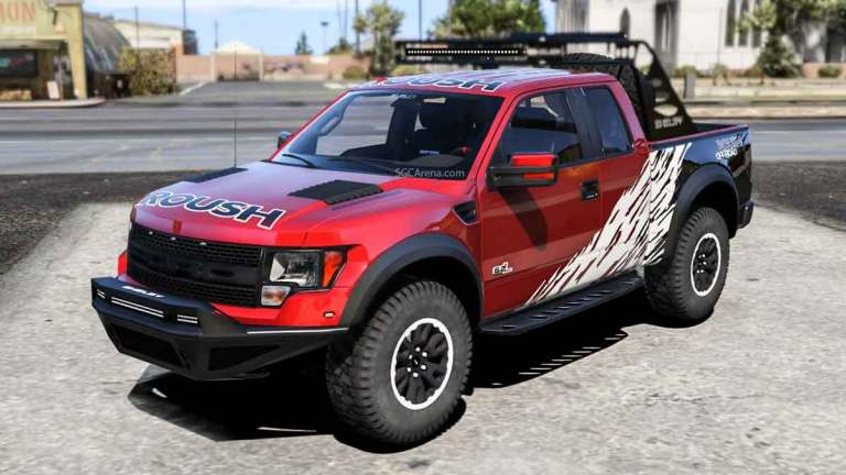 Ford F-150 SVT Raptor Truck Mod for BUSSID