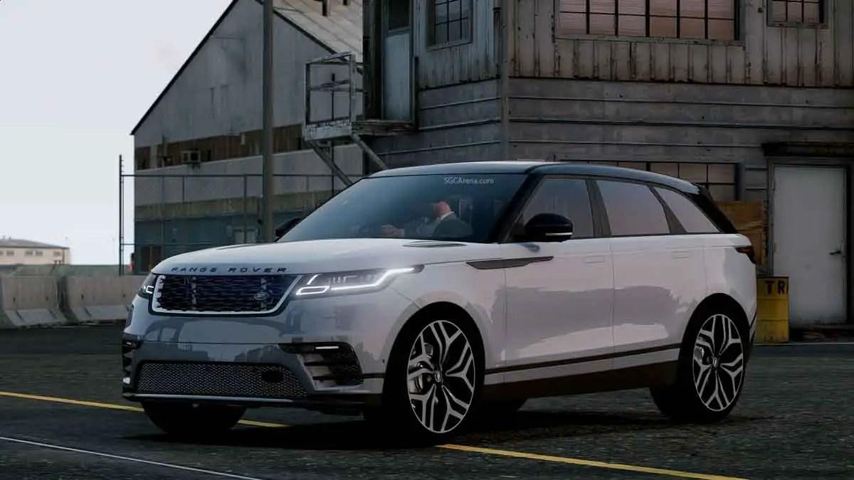 Download Range Rover Velar 2021 Car Mod BUSSID, Range Rover Velar 2021 Car Mod, BUSSID Car Mod, BUSSID Vehicle Mod, MAH Channel, Range Rover