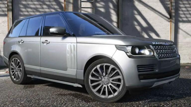 Range Rover Vogue SUV Mod BUSSID