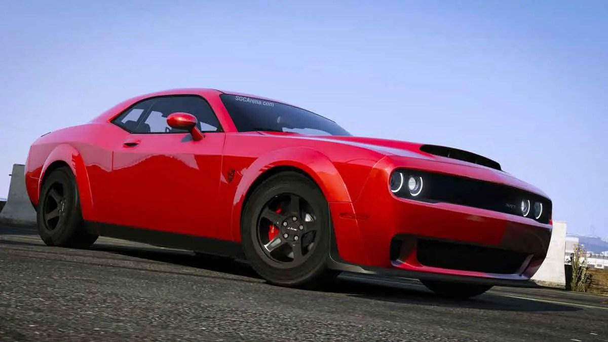 Download Dodge SRT Demon Car Mod BUSSID, Dodge SRT Demon, BUSSID Car Mod, BUSSID Vehicle Mod, Dodge, MAH Channel