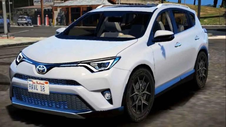 Toyota RAV4 Car Mod BUSSID