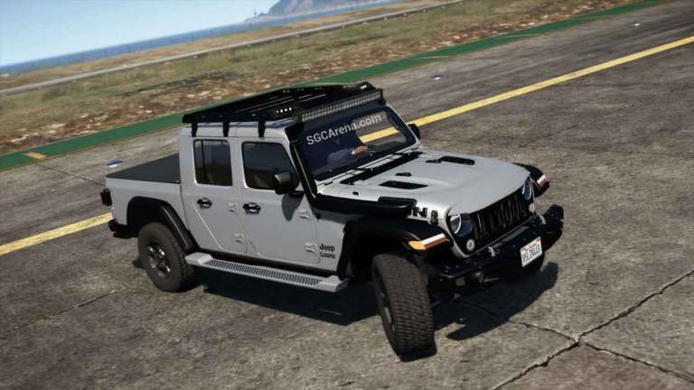 Jeep Gladiator 2020 Mod BUSSID