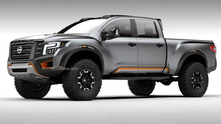 Nissan Titan Warrior Pickup Truck Mod BUSSID