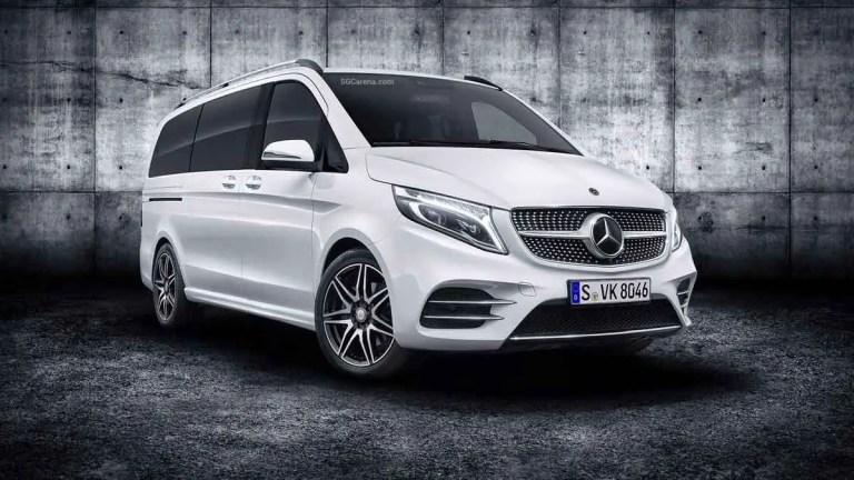 Mercedes-Benz V-class Mod BUSSID