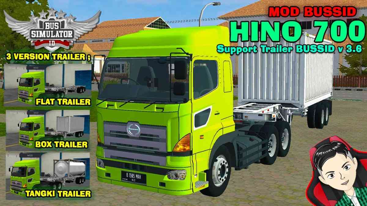 Download Hino 700 Truck Mod for BUSSID V3.6, Hino 700, BUSSID Truck Mod, BUSSID Vehicle Mod, Hino, MAH Channel