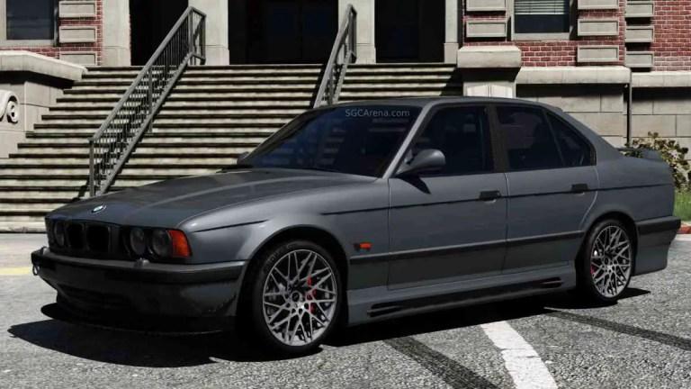 1995 BMW M5 E34 Car Mod BUSSID