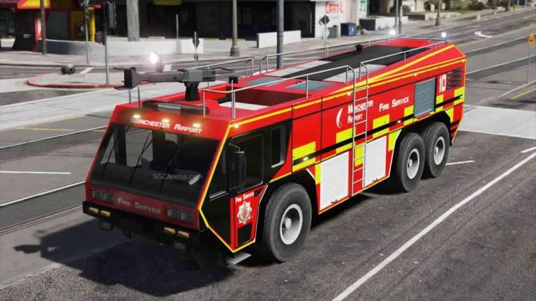 Hydramax AERV Firetruck Mod BUSSID