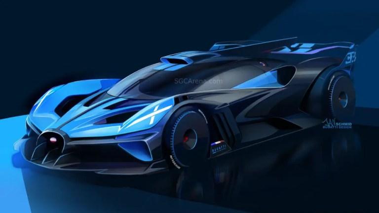 2020 Bugatti Bolide Car Mod BUSSID