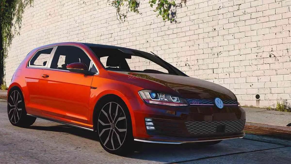 Download Volkswagen Golf GTI Mk7 Mod BUSSID, Volkswagen Golf GTI Mk7, BUSSID Car Mod, BUSSID Vehicle Mod, MAH Channel, Volkswagen