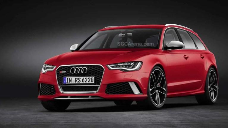 Audi RS6 Avant Car Mod BUSSID