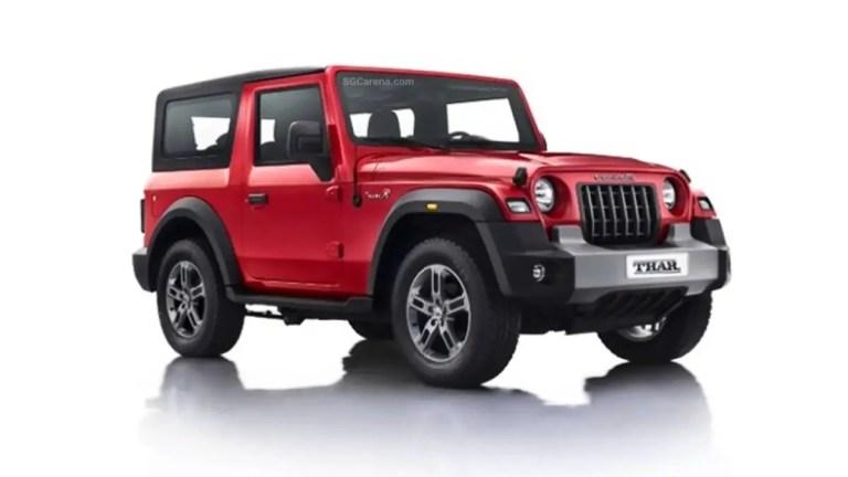 Mahindra Thar SUV Mod BUSSID