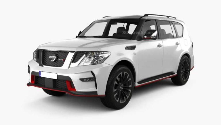 Nissan Patrol Nismo 2014 Mod BUSSID