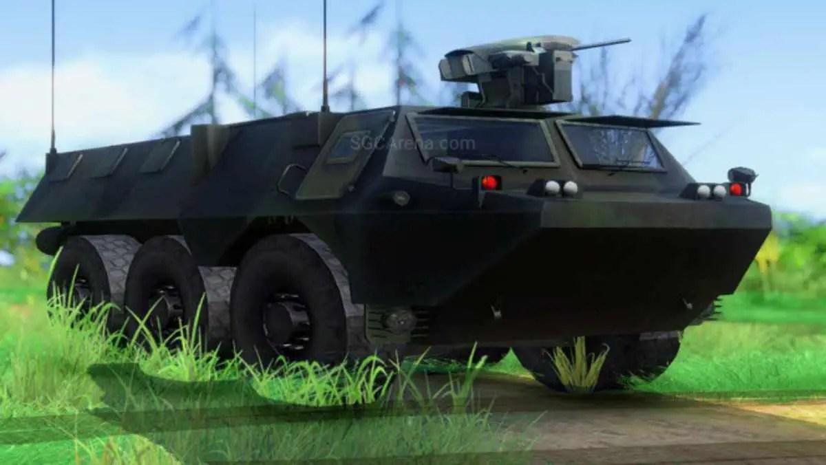 Download Anoa 6x6 APC Pindad Mod BUSSID, Anoa 6x6 APC Pindad, BUSSID Tank Mod, BUSSID Vehicle Mod, MAH Channel