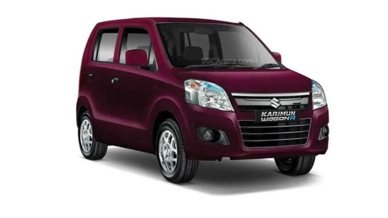 Suzuki Karimun Wagon R Car Mod BUSSID