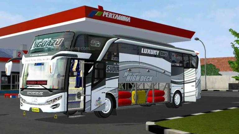 SHD Mercy Terbaru Bus Mod BUSSID