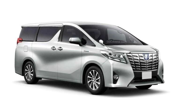 Toyota Alphard 2017 Car Mod BUSSID