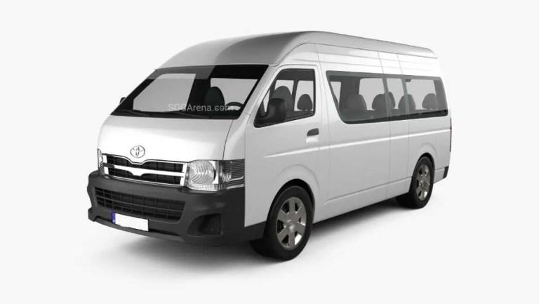 Toyota Hiace 2012 Mod BUSSID