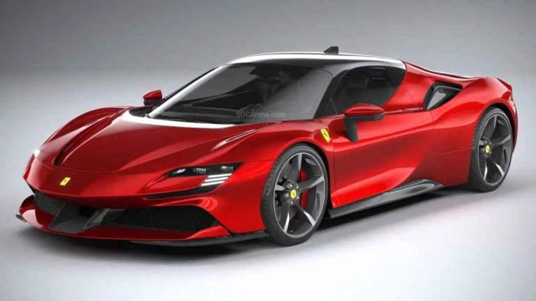 Ferrari SF90 Stradale 2021 Car Mod BUSSID