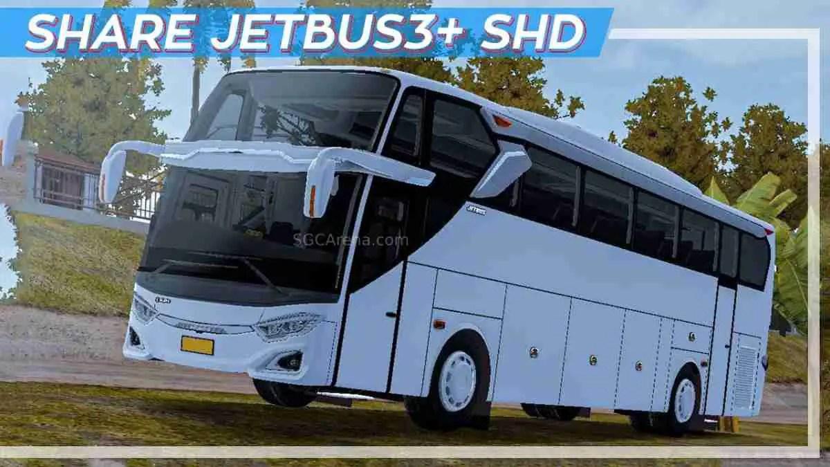 Download Jetbus 3+ Shd Hino RK8 Air Suspension Mod BUSSID, Jetbus 3+ Shd Hino RK8, ALDOVADEWA, BUSSID Bus Mod, BUSSID Vehicle Mod, Dewa Project, Hino, JetBus3+