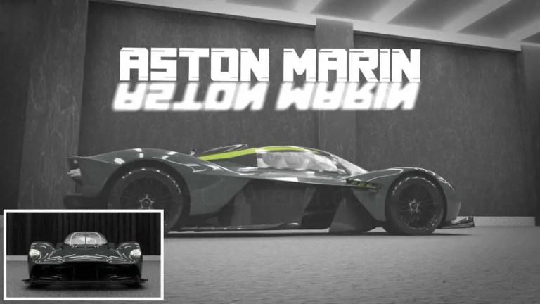 Aston Martin Valkyrie Mod BUSSID