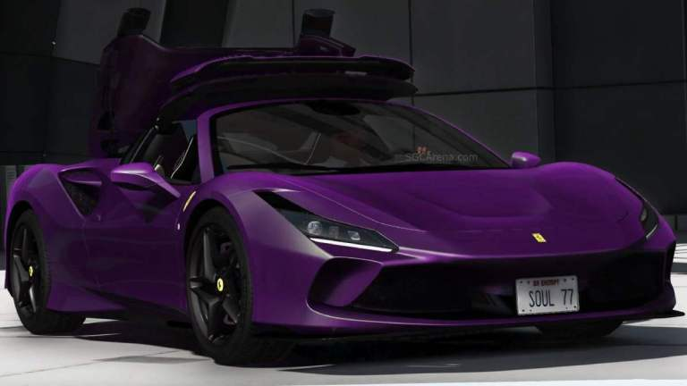 2020 Ferrari F8 Spider Mod BUSSID