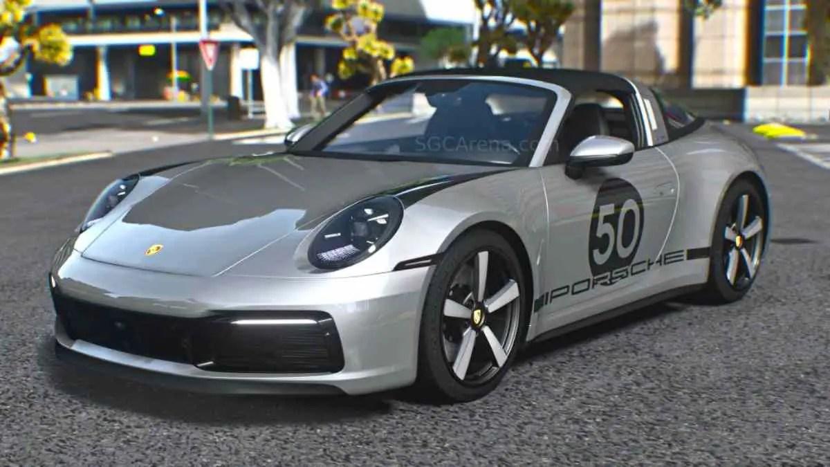 Download Porsche 911 Targa 2022 Mod BUSSID, Porsche 911 Targa 2022, BUSSID Car Mod, BUSSID Vehicle Mod, MAH Channel, Porsche