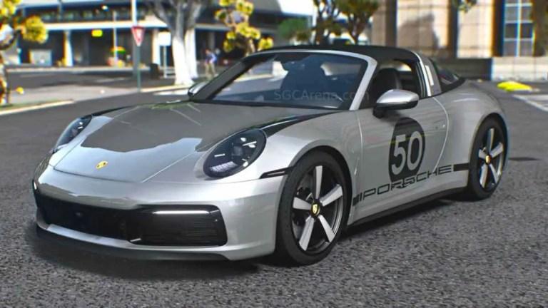 Porsche 911 Targa 2022 Mod BUSSID