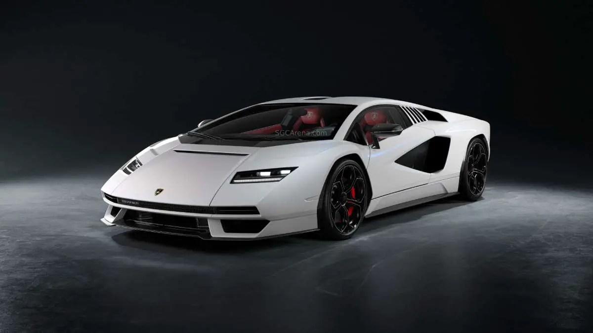 Download 2022 Lamborghini Countach Mod BUSSID, 2022 Lamborghini Countach, BUSSID Car Mod, BUSSID Vehicle Mod, Lamborghini, MAH Channel, Super Car Mod