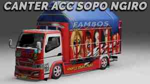 Download Canter Mbois Sopo Mod BUSSID, Canter Mbois Sopo, BUSSID Truck Mod, BUSSID Vehicle Mod, Fam8os, Mod CANTER