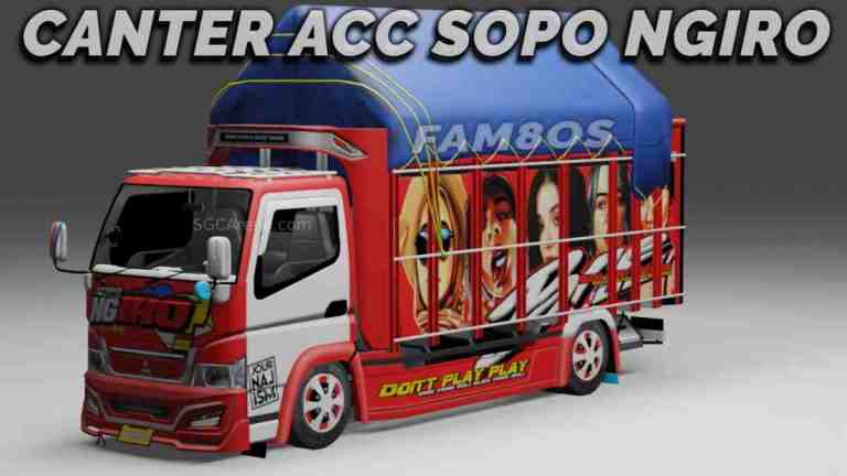 Canter Mbois Sopo Mod BUSSID
