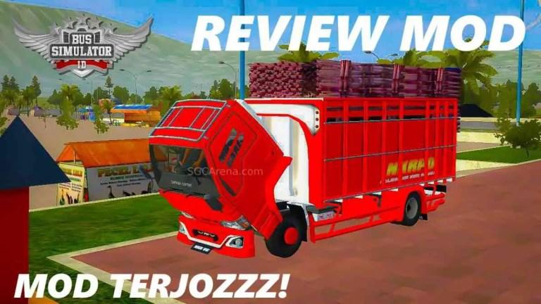 NKR PO V6 Truck Mod BUSSID