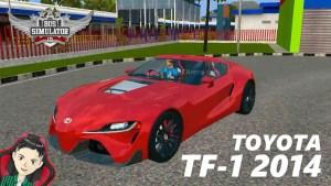 Download Toyota FT-1 2014 Mod BUSSID, Toyota FT-1 2014, BUSSID Car Mod, BUSSID Vehicle Mod, MAH Channel, Toyota