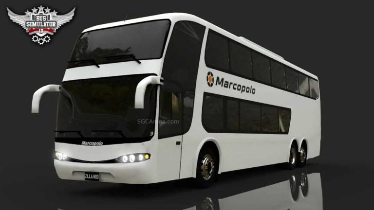 Marcopolo G6 SDD Bus Mod BUSSID