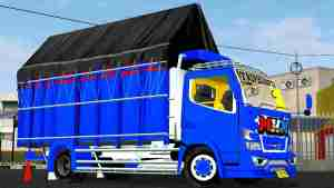 Download Truck Canter MHN Mod BUSSID, Truck Canter MHN, BUSSID Truck Mod, BUSSID Vehicle Mod, Mod CANTER, SH Dsgn