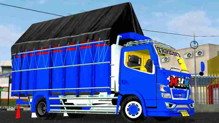 Truck Canter MHN Mod BUSSID