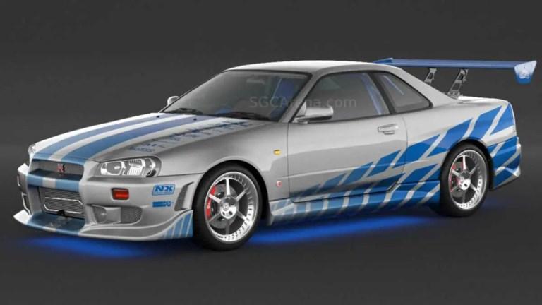 Nissan Skyline R34 C-West V2 Mod BUSSID