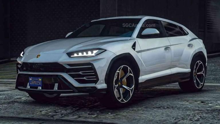 Lamborghini Urus 2019 Mod BUSSID