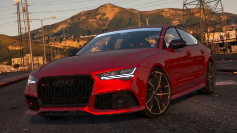 2016 Audi RS7 Mod BUSSID