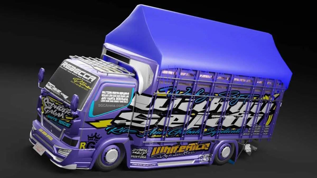 Download Republick Gabah Mod BUSSID, Republick Gabah, ADS, BUSSID Truck Mod, BUSSID Vehicle Mod