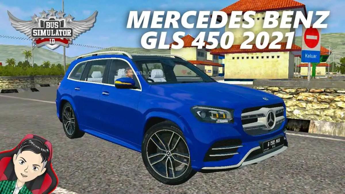 Download Mercedes-Benz GLS 450 2021 Mod BUSSID, Mercedes-Benz GLS 450 2021, BUSSID Car Mod, BUSSID Vehicle Mod, MAH Channel, Mercedes Benz