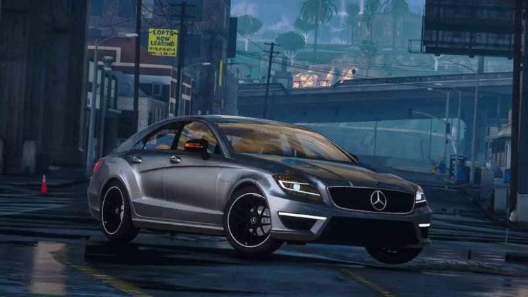 Mercedes-Benz CLS 63 AMG Mod BUSSID