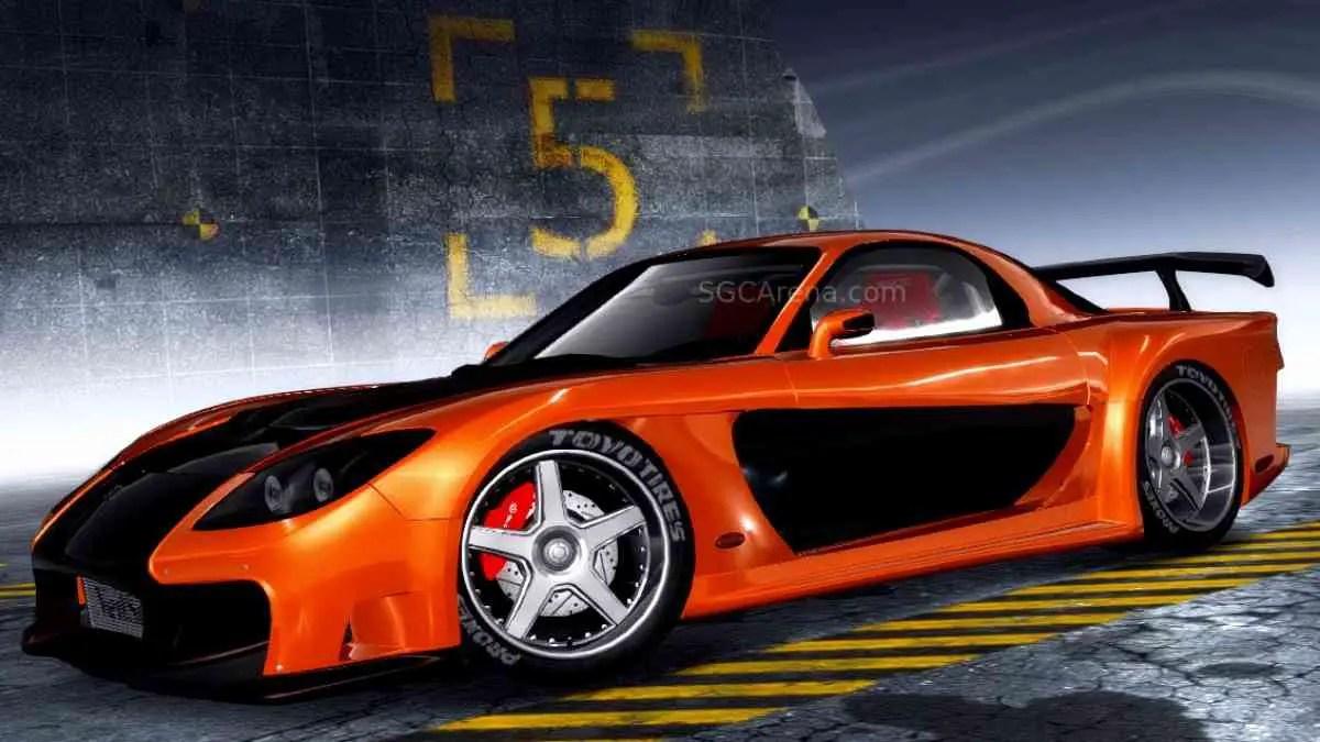 Mazda RX-7 Veilside Mod BUSSID