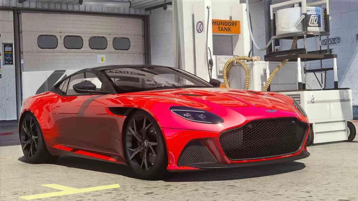 Aston Martin DBS Superleggera 2019 Mod BUSSID