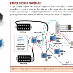3 Conductor Pickup Wiring Diagram Sunpro Super Tach 11 Ground The Poles To Cavity Shielding