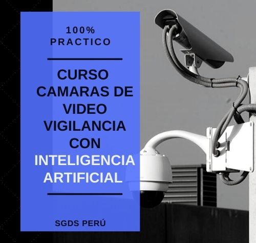 CURSO CAMARAS DE VIDEO VIGILANCIA CON INTELIGENCIA ARTIFICIAL