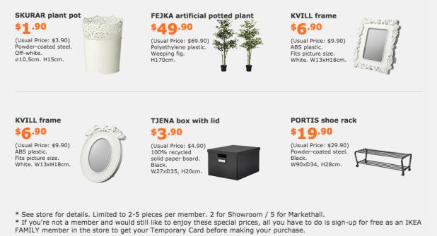 IKEA-Offers
