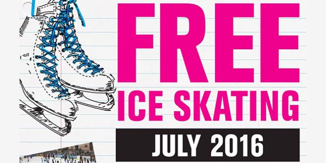 FREE Ice Skating at The Rink