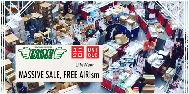 Tokyu-hands-uniqlo-massive-sale-3-apr-2016-1