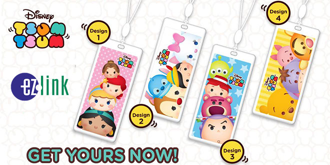 EZ-Link Disney Tsum Tsum Charms 24 Feb 2017