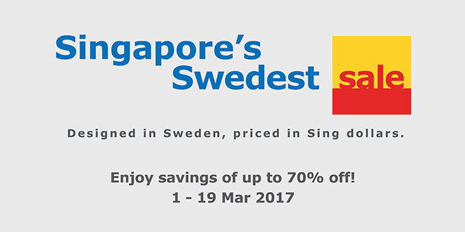 IKEA Singapore Swedest Sale 2017